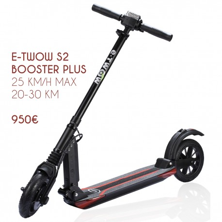 trottinette etwow booster plus
