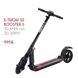 Electric scooter E-twow Booster S. Powerful, easy to handle, light and compact.