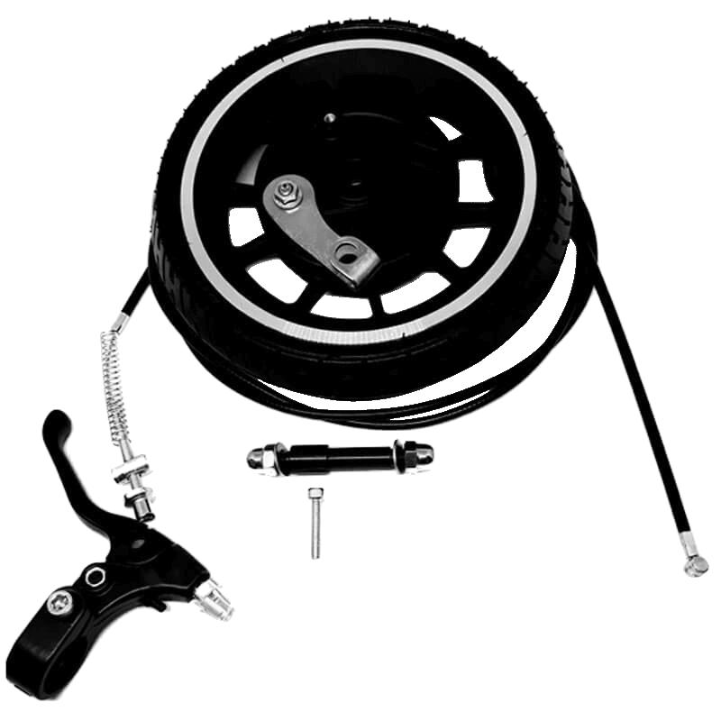 Kit frein à tambour roue gomme tendre pour trottinette électrique E-TWOW et Littleboard - Pour GT uniquement