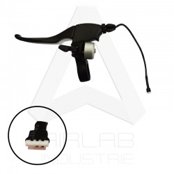 Brake lever with bell for...