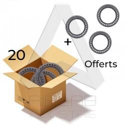 20 (+ 3 offerts) Pneus...