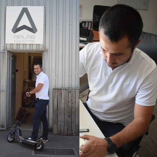 Arnaud, Président fondateur d'Airlab Industrie