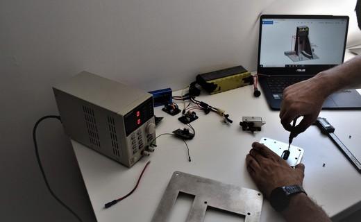 trottinette électrique Lab'Elle : recherche et développement